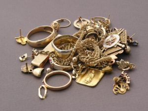 A Collection of Scrap Gold