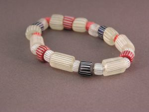Bracelet collection of Red, Blue and Creamy white Gooseberries