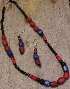 Cornaline d'Aleppo Necklace & Earrings