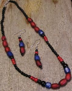 Cornaline d'Aleppo Necklace & Earrings