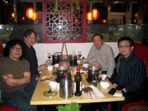 Dinner in Chengdu