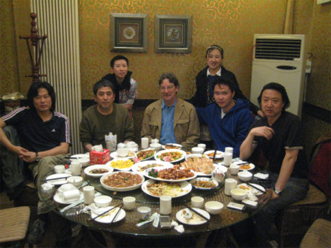 Lunch with Tianjin Printmaking Faculty