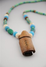 Trade Beads With Walrus Ivory